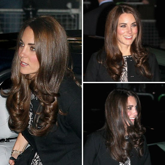 Pictures of Kate Middleton's Glossy Hair From All Angles