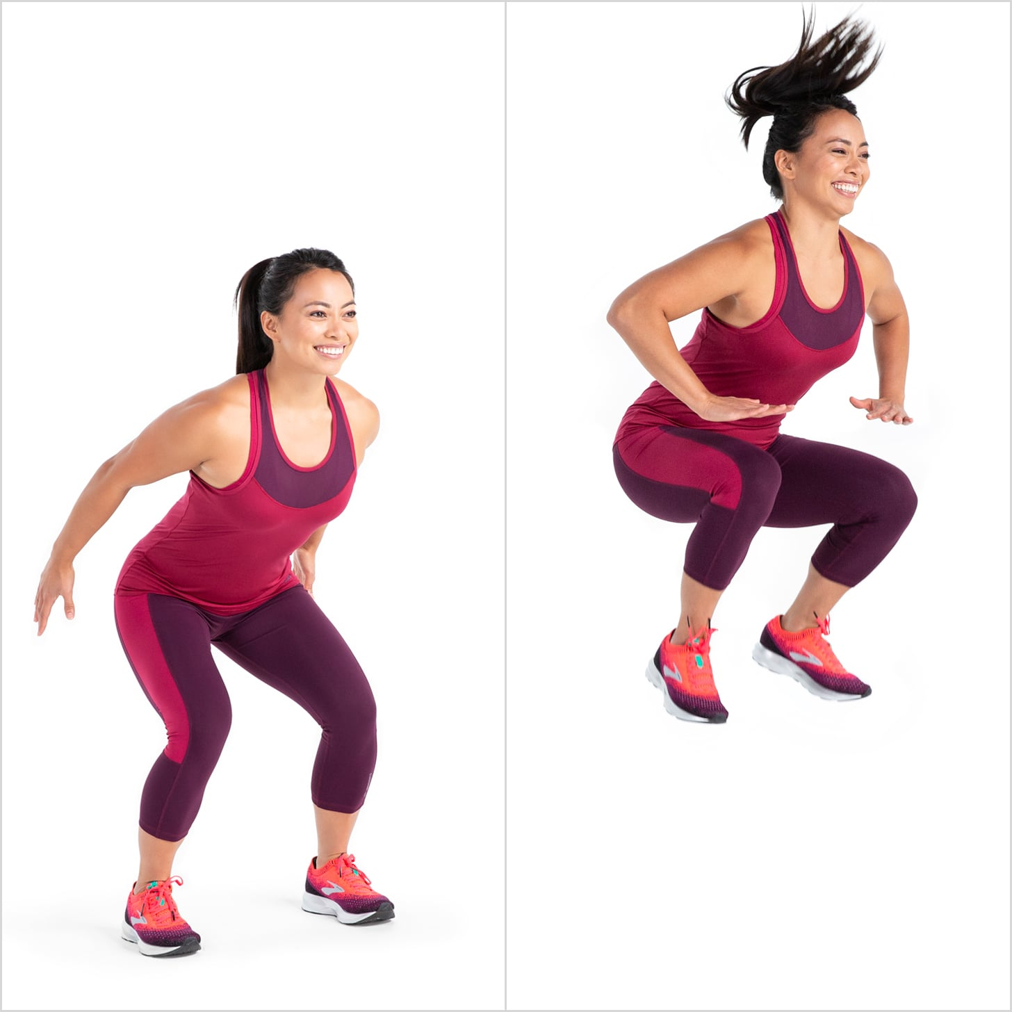 Tuck Jump | Carve Your Core With 10 Minutes of Cardio | POPSUGAR Fitness Photo 10