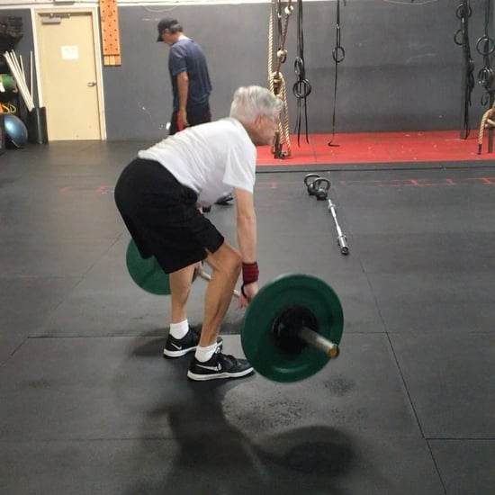 78-Year-Old Man Doing CrossFit
