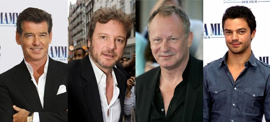 Interview with Pierce Brosnan, Colin Firth, Stellan Skarsgard and Dominic Cooper About Mamma Mia!