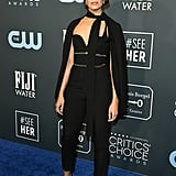 Mandy Moore Wore a Cape to the Critics' Choice Awards 2020