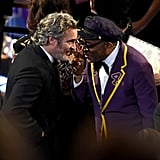 Joaquin Phoenix and Spike Lee at the 2020 Oscars