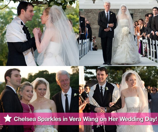 Bill, Hilary and Chelsea Clinton at Her Wedding to Marc Mezvinsky