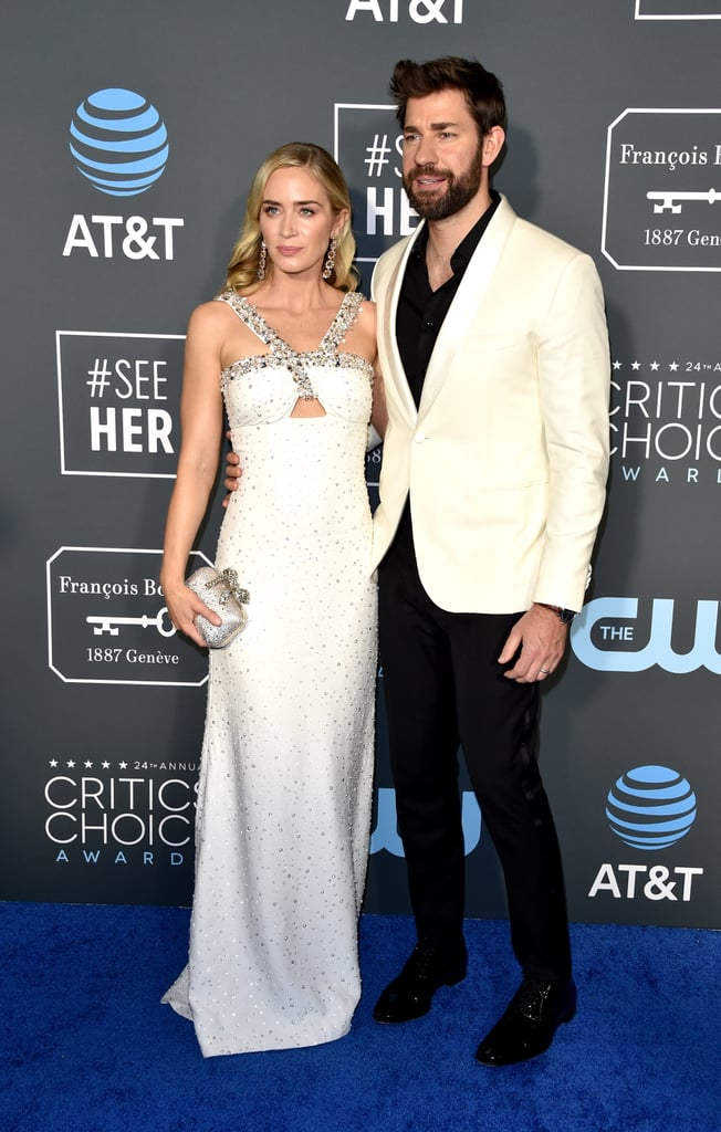 Emily Blunt And John Krasinski At The 2019 Critics Choice