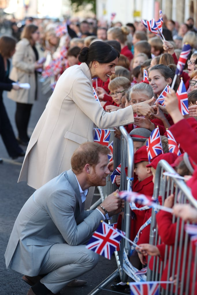 Prince Harry and Meghan Markle Cute Moments in Sussex 2018