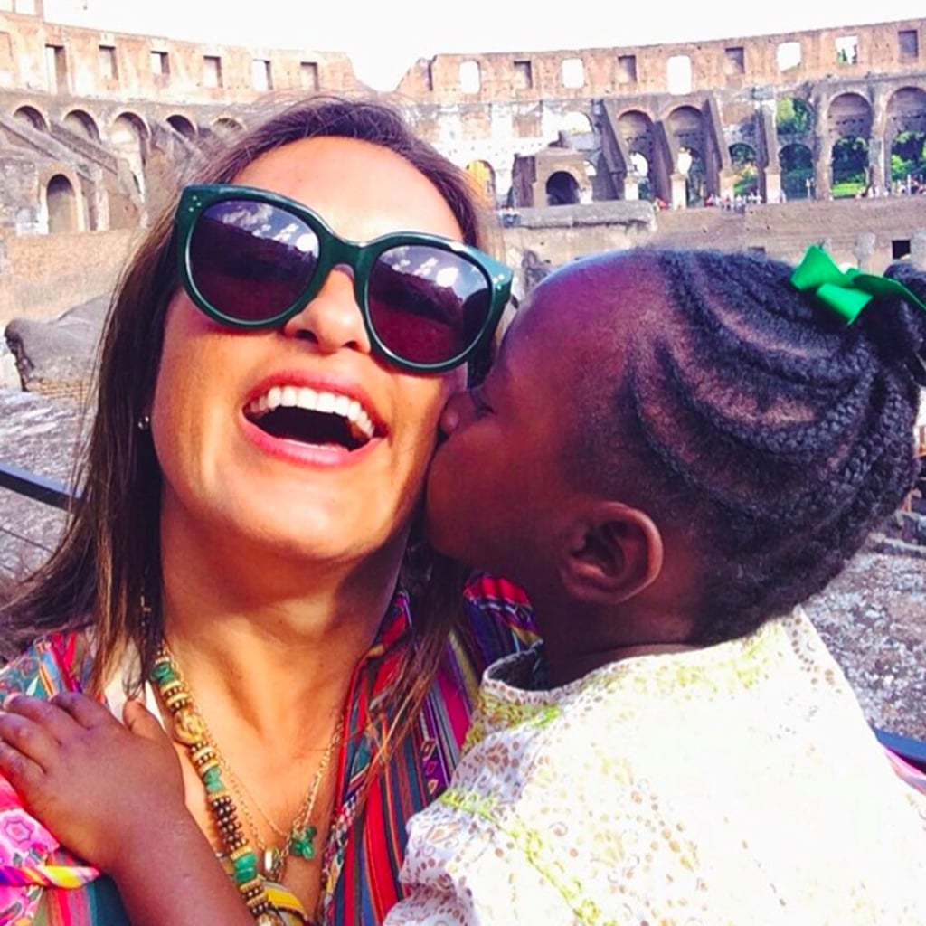 Mariska Hargitay and Her Daughter Pictures