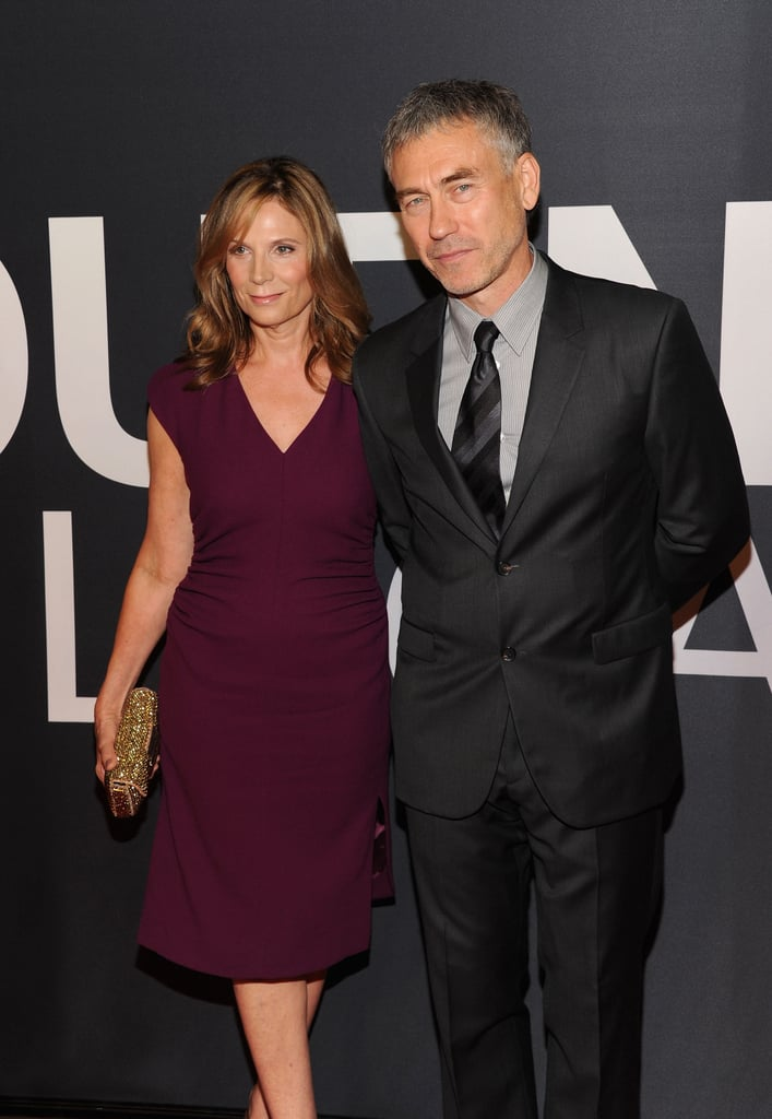 Tony Gilroy and wife Susan Gilroy were in attendance at The Bourne Legacy's world premiere in NYC.