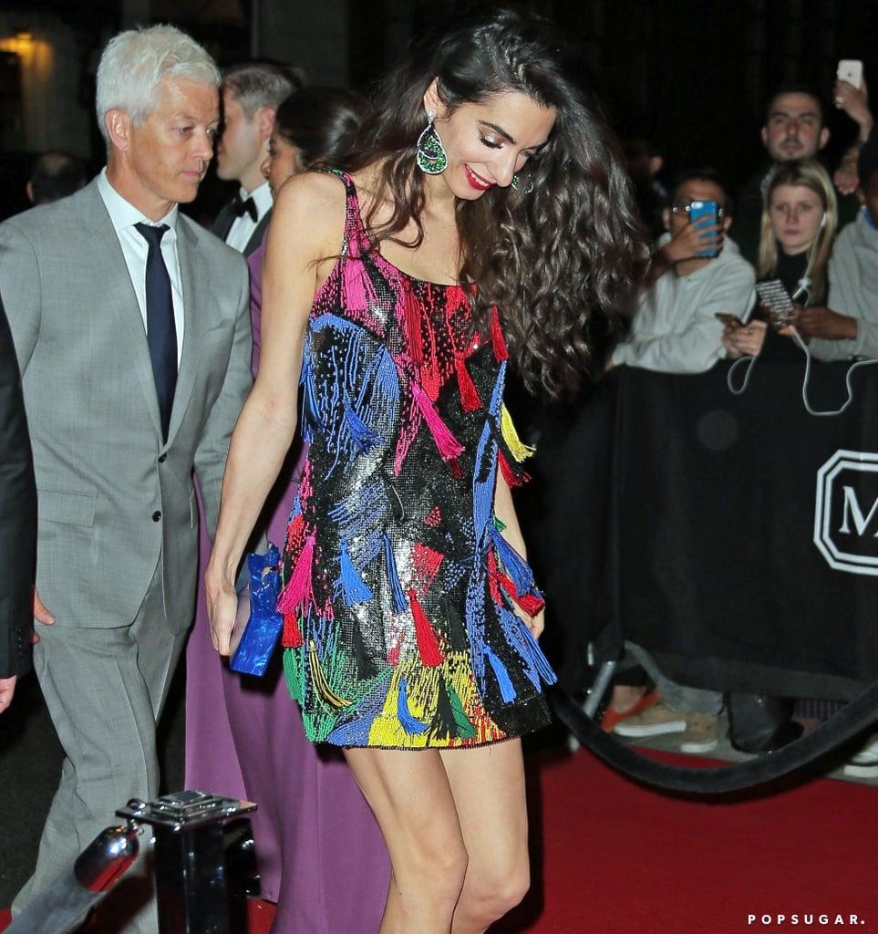 Amal Clooney Dress Style