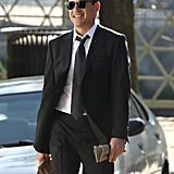 Robert Downey Jr. looked rather dapper on the set of The Judge in Massachusetts on Monday.