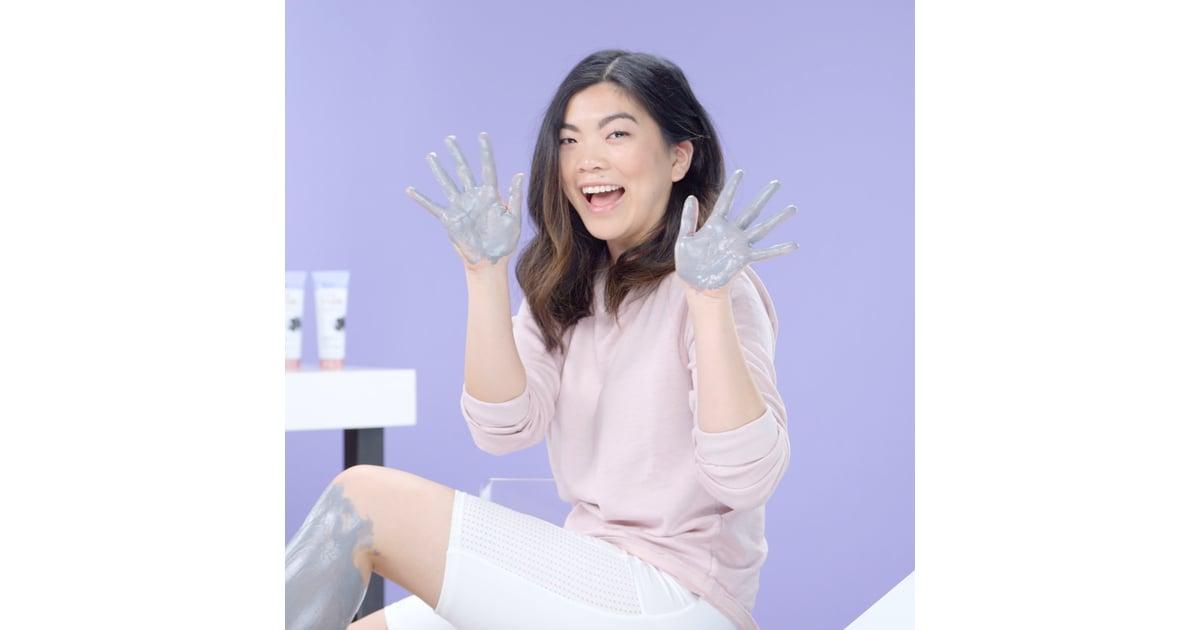 Nair Charcoal Leg Mask Review Popsugar Beauty