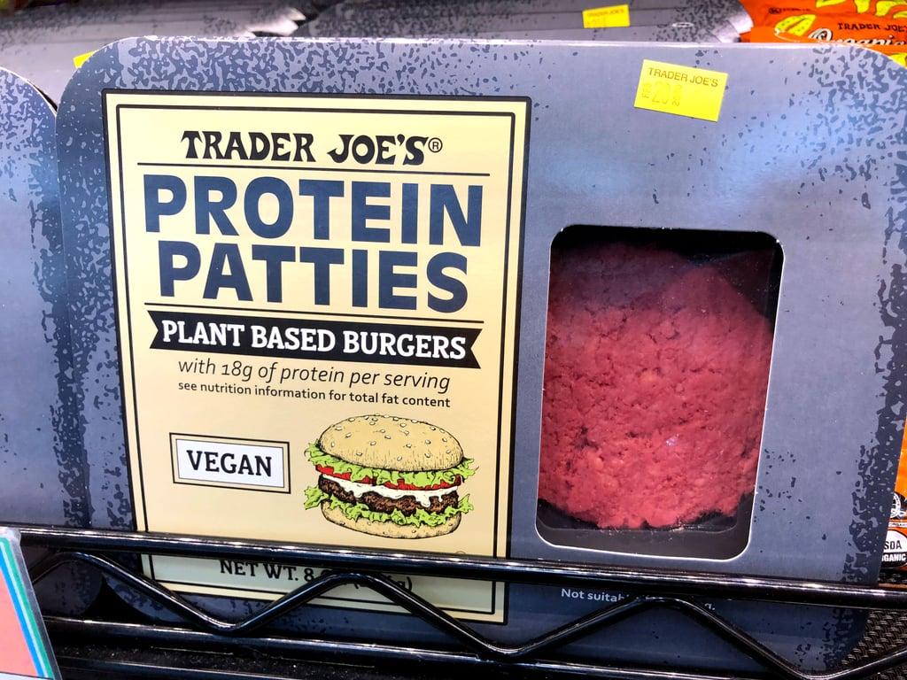 "Trader Joe's Now Has ""Protein Patties"" Plant-Based Burgers"
