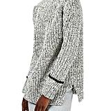 Topshop Stripe Cuff Funnel Neck Sweater ($80)