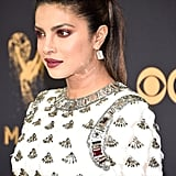 Priyanka Chopra at the 2017 Emmy Awards