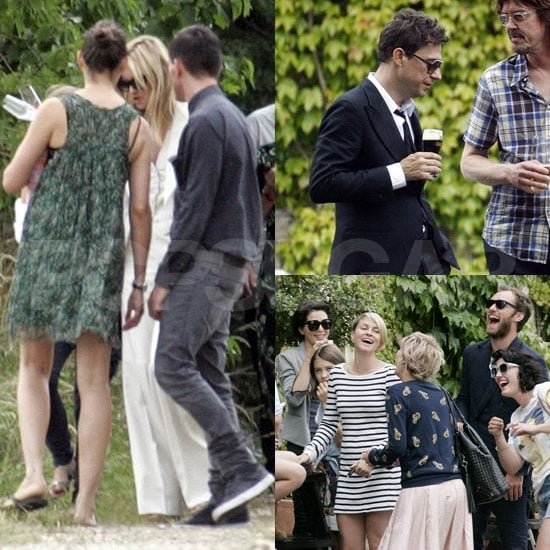 Kate Moss Pictures Leaving After Her Wedding With Jamie Hince