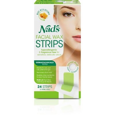 Nad's Facial Wax Strips