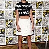 Jennifer Lawrence wore Proenza Schouler.