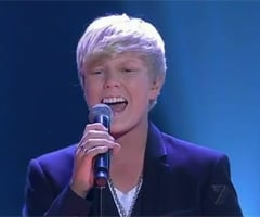 "Video of Jack Vidgen Singing Original Song ""Yes I Am"" on Australia's Got Talent Grand Final"