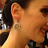These are the earrings Carey Mulligan wore in The Great Gatsby! Aren't they divine?