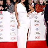 Maya Jama at the National Television Awards 2020