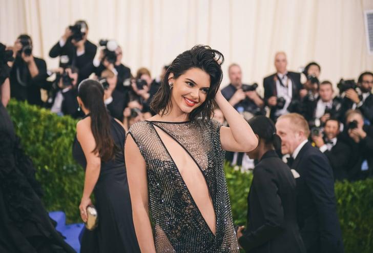 48d4ba772d Kendall Jenner Plunging Neckline Outfits | POPSUGAR Fashion