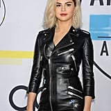 Selena Gomez at the 2017 American Music Awards