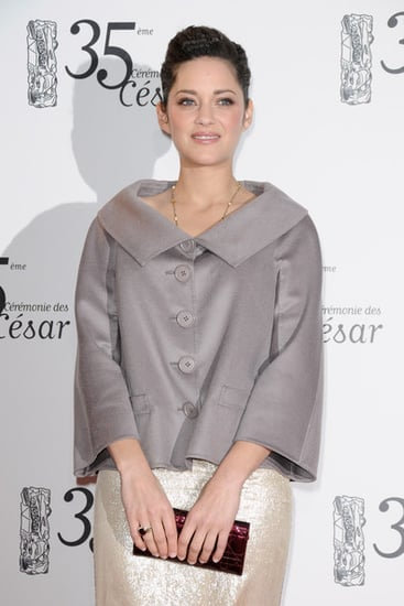 Marion Cotillard at the 2010 Cesar Film Awards