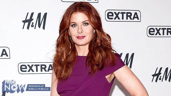 Debra Messing Talks Campaigning in Ohio After Will & Grace's Election-Themed Reunion