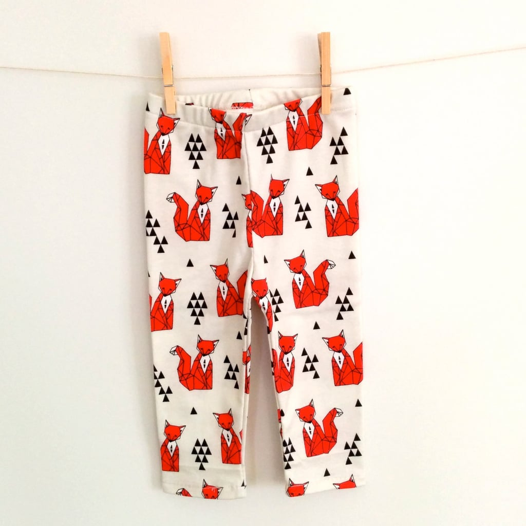 Orange Fox Pants