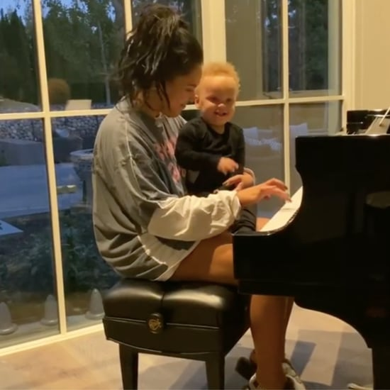 """Ayesha Curry Plays """"Baby Shark"""" on Piano For Canon 