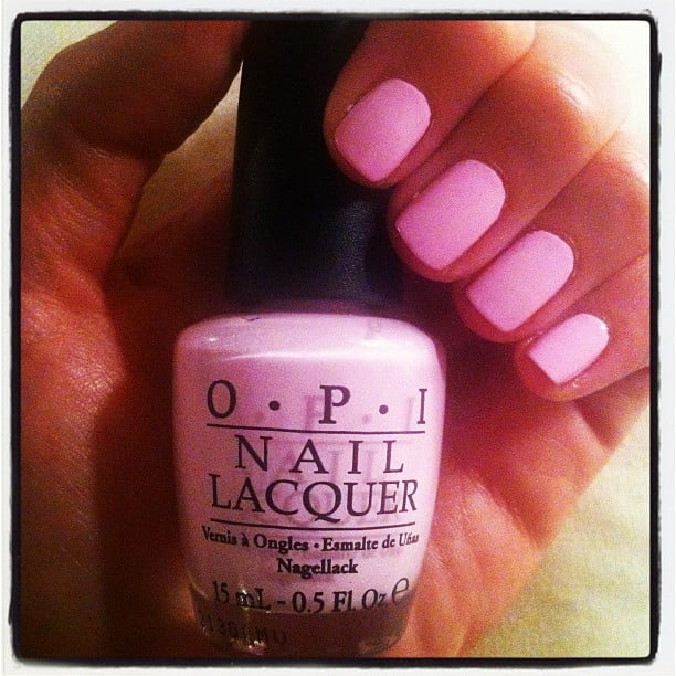 The perfect pale pink: OPI's Mod About You.
