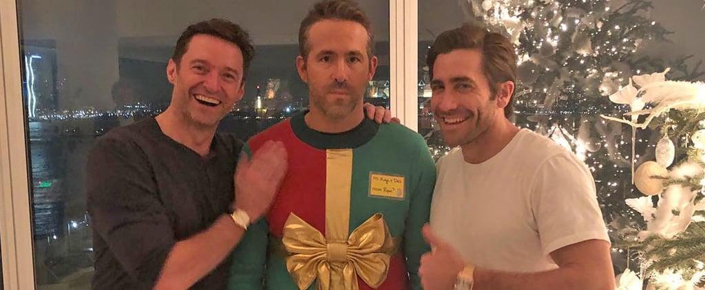 Jake Gyllenhaal and Hugh Jackman Troll Ryan Reynolds 2019