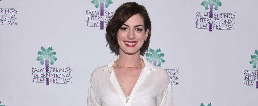 Anne Hathaway Admits She Wasn't Happy When She Won Her Oscar