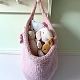 Felted Hanging Storage Bag