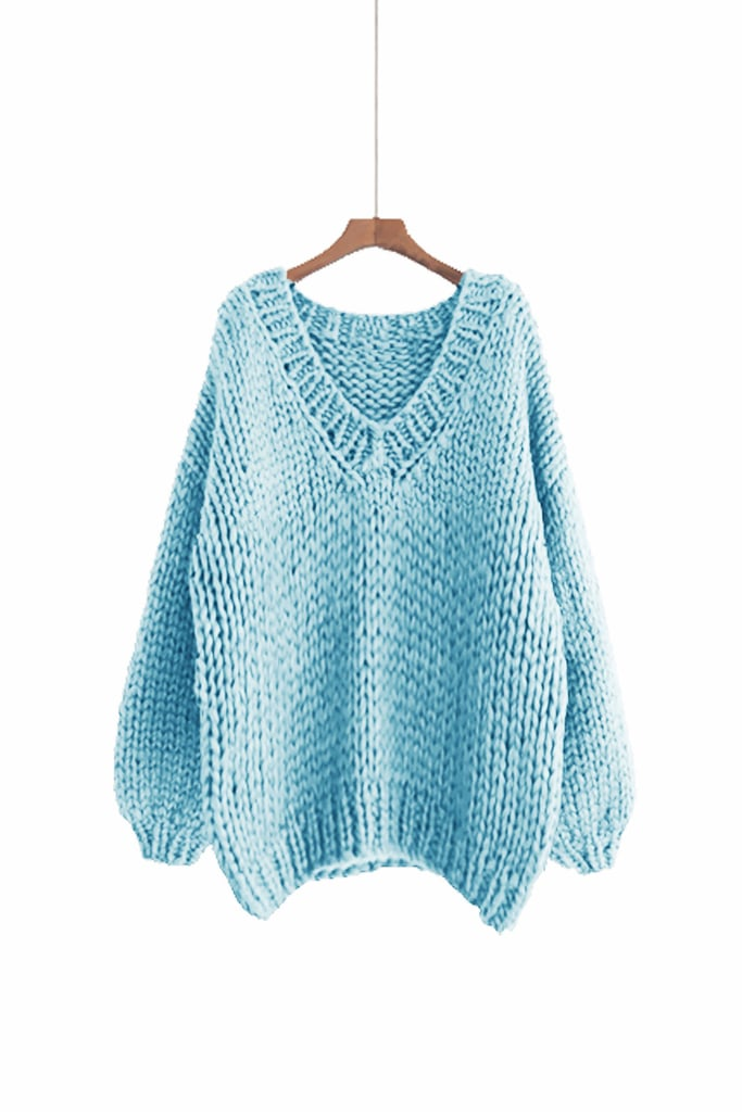 Max Melody Hand Knit Oversize Woman's Sweater
