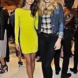 Lily Aldridge and Tori Praver