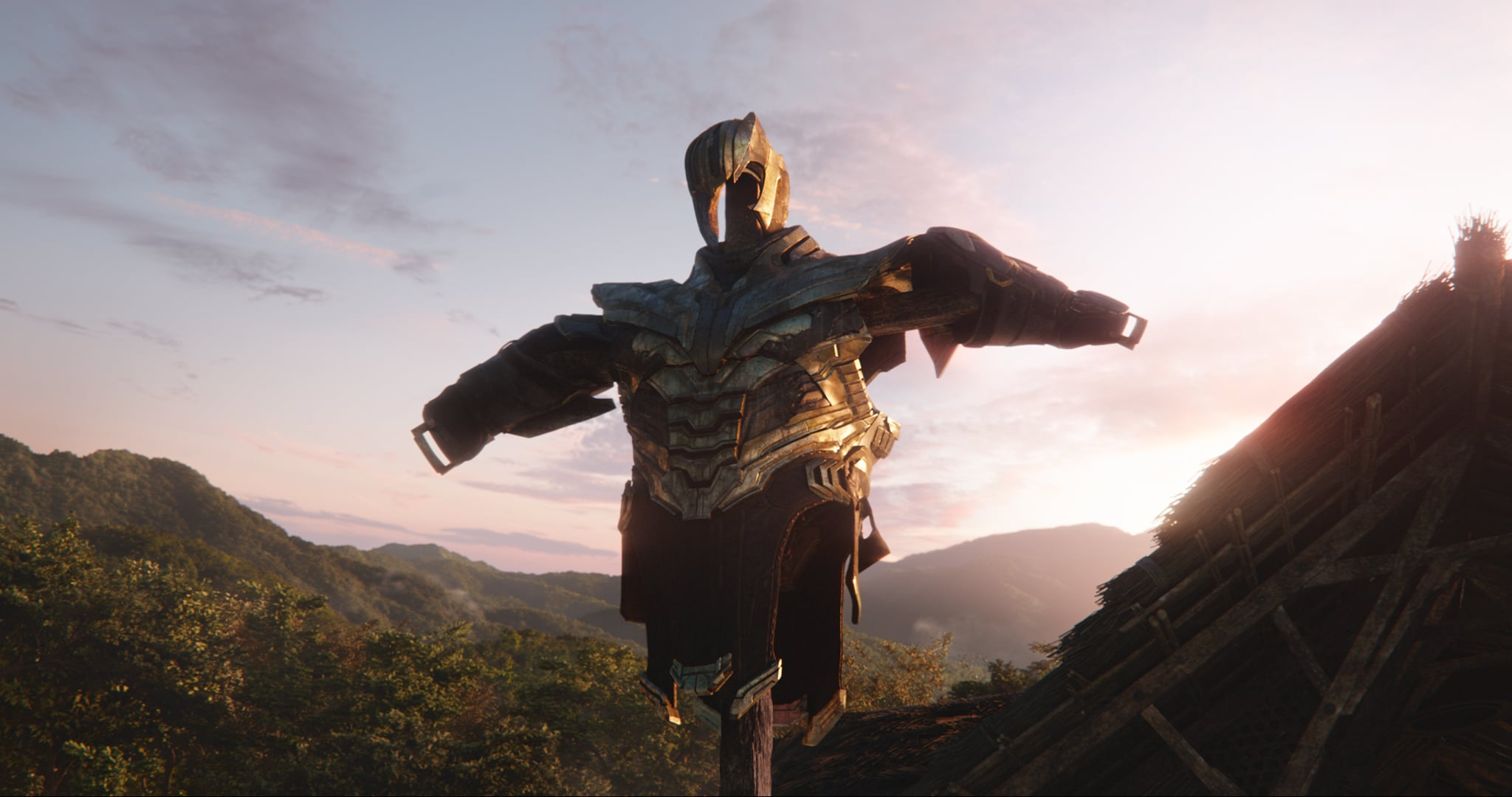 Marvel Studios' AVENGERS: ENDGAME..Thanos' armor..Photo: Film Frame..©Marvel Studios 2019