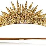 Jennifer Behr Margarite Gold-plated Headband