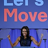 When She Created Let's Move!