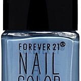 Forever 21 Nail Polish in Stone Blue  ($3)