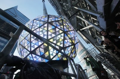 Times Square New Years Resolutions