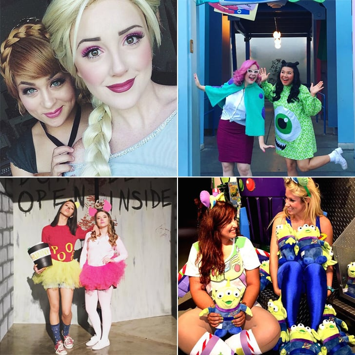 b5d28a64a6b Disney Costumes For Best Friends | POPSUGAR Love & Sex