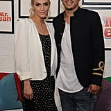 Ashlee Simpson and Evan Ross at Swiffer Event May 2016
