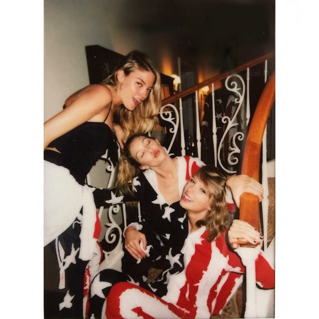 Stars At Taylor Swift S Fourth Of July Party Pictures Popsugar Celebrity