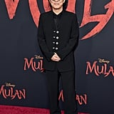 Jet Li at the World Premiere of Mulan in LA