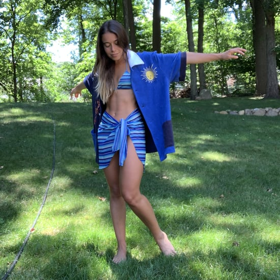 How to Wear a Sarong Skirt With Your Swimsuit