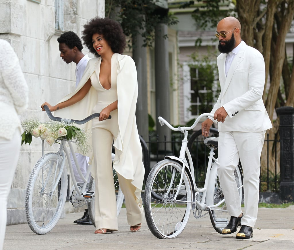Beyonce At Solange Knowles's Wedding