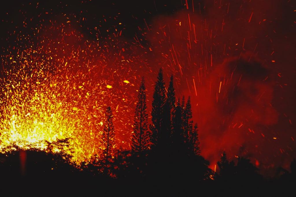 Hawaii Kilauea Volcano Eruption Photos 2018