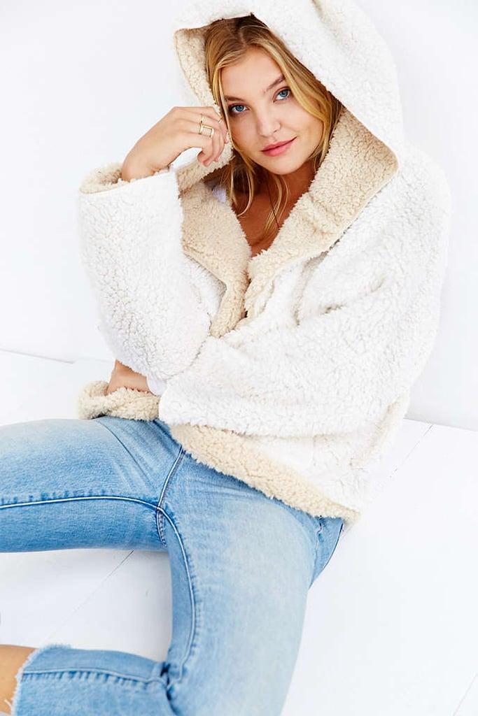 Choies Reversible Faux Fur Coat