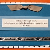 Blue and Orange Card