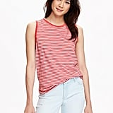 Old Navy Slub-Knit Sleeveless Tee ($15)